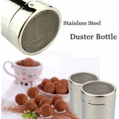UR Kitchen Gadgets Stainless Steel Power Duster Bottle Cocoa Powder Coffee Seasoning Bottle *** Want additional info? Click on the image. (This is an affiliate link and I receive a commission for the sales)