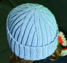 Top Down Hats pattern by Kristin Spurkland