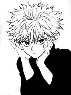 Image de anime, hunter x hunter, and anime boy
