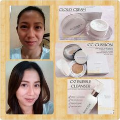 Before and after of NLIGHTEN products