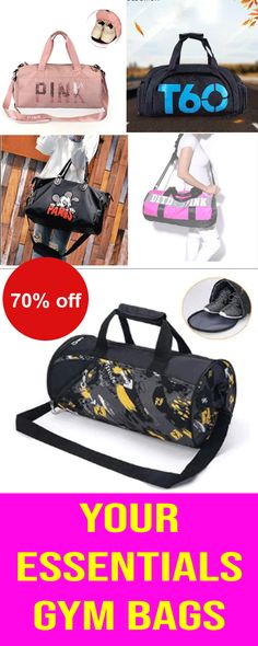 Large gym bag for all your needs! Includes a removable lined pouch for  separating dirty laundry or a wet…  e1b3866d5440c
