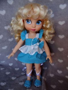 Cinderella Doll, Disney Princess Cinderella, Disney Animator Doll, Disney Dolls, New Dolls, Ooak Dolls, Cute Disney, Baby Disney, Disney Animators Collection Dolls
