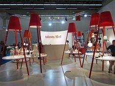hsin-chun wang at tendence fair 2012, frankfurt