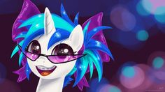 Young Vinyl Scratch by KP-ShadowSquirrel on DeviantArt