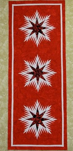 Winter Wonderland Certified Shop Pinwheels and Posies Table Runner And Placemats, Table Runner Pattern, Quilted Table Runners, Christmas Runner, Quilted Ornaments, Foundation Paper Piecing, Table Toppers, Tablecloths, Quilt Making