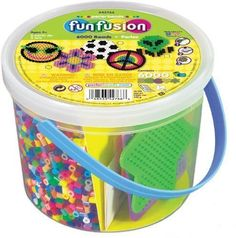 Toys Games Arts Crafts Perler Beads 6,000 Count Bucket Multi Mix Design Age 5 Up #Perler