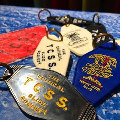 TCSS PARADISE MOTEL KEY キーホルダー Key Holders, Key Case, Diy Invitations, Motel, Key Rings, Swatch, 3d Printing, Surfing, Illustration Art