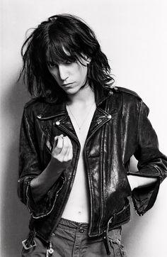Bullet Blues Rock Star Style Radar: Patti Smith #PattiSmith #Rock #RockStyle #AmericanMadejeans #BulletBlues