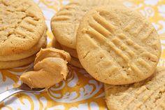 Biscuits au beurre d'arachide à l'ancienne