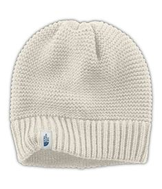 aa7a2c9298b The North Face Purrl Stitch Beanie Womens Vintage White One Size    Check  out the image by visiting the link. Camping Hacks · Women s Outdoor Clothing