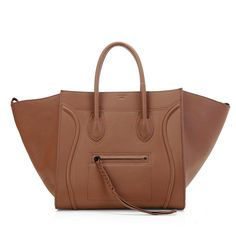 #3341 Celine 2012 Original Leather Phantom Bag- Brown