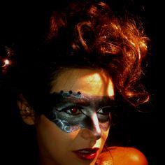 Hair and Makeup show, masquerade theme