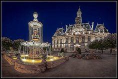 Limoges Town Hall, France by Mr Redd, via Flickr
