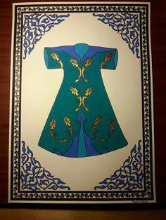 El yapımı-Hand made Akrilik × cm. Illumination Art, Turkish Art, Sufi, Islamic Art, Pottery Art, Stained Glass, Embroidery, My Style, Artwork