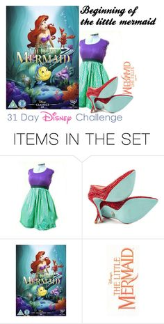 """""""ariel"""" by taylorr143 ❤ liked on Polyvore featuring art"""