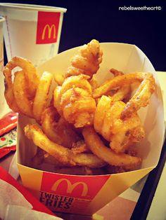 The Rebel Sweetheart.: Foodie Goodie   Twister Fries.
