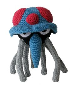Pokemon Crochet: Tentacruel by ~kerryroulston on deviantART