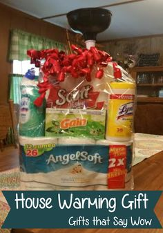 Good Free of Charge GIFTS THAT SAY WOW - Fun Crafts and Gift Ideas: Fun House Warming Gift Tips Baskets are preferred for ornamental applications along with may be used functionally for regulatory Homemade Gift Baskets, Housewarming Gift Baskets, Wine Gift Baskets, Homemade Gifts, Basket Gift, Housewarming Wishes, Themed Gift Baskets, Raffle Baskets, Gag Gifts