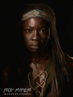 The Walking Dead: Michonne: Anisotropic (Ver.3) by nerdboy69 on DeviantArt