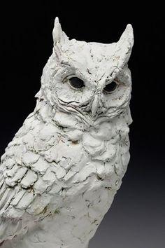 Most recent Photos Clay sculpture owl Style Christine Kosiba, Sculptor Pottery Sculpture, Bird Sculpture, Animal Sculptures, Pottery Art, Clay Sculptures, Sculpture Ideas, Slab Pottery, Bronze Sculpture, Ceramic Pottery