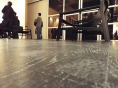 #pavimento in legno con #resina, effetto vissuto-invecchiato. www.stanzedautore.it