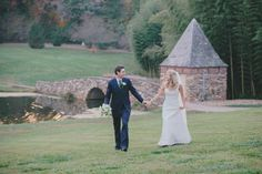 Bride and Groom | Graylyn Estate, Elegant Fall Wedding | Logan Jarrard Photography | Leigh Pearce Weddings, Winston Salem North Carolina Wedding Planner