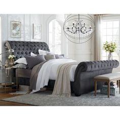 Art Van Bombay King Upholstered Bed - Overstock™ Shopping - Great Deals on Art Van Furniture Beds