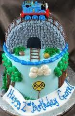Thomas the train cake Cake Icing, Eat Cake, Cupcake Cakes, Cupcakes, Thomas And Friends Cake, Thomas Cakes, Second Birthday Ideas, Character Cakes, Thomas The Train