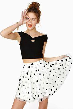 In Shape Skater Skirt