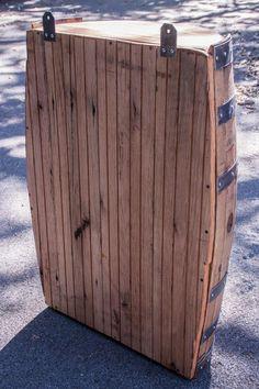 Bourbon Barrel and Reclaimed Barn wood Shelf Whiskey Barrel Decor, Wine Barrel Chairs, Wine Barrel Bar, Wine Barrel Furniture, Barrel Table, Bourbon Barrel, Bar Furniture, Wine Barrels, Barrel Of Monkeys