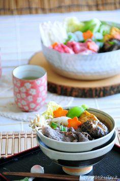 Beef sukiyaki #food