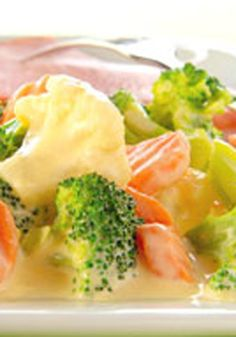 Creamy Veggies -- Even kids will love eating this healthy living recipe. And busy moms will love that this tasty microwaved side dish can be on the dinner table in less than 20 minutes.