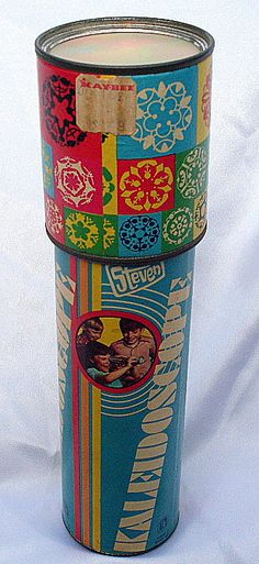 Kaleidoscope. We just bought one like this at a thrift store. Brought back memories.