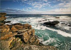Martina Cross - Atlanktik Küste Schottland