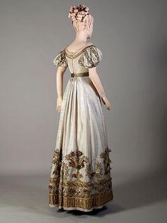 Court or evening dress ca. 1810-25