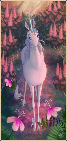 "my childhood, ""the last unicorn"" I watched this soooo many times."