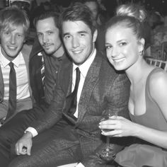 Gabriel Mann, Nick Weschler, Joshua Bowman and Emily VanCamp (Nolan, Jack, Daniel and Emily in Revenge)