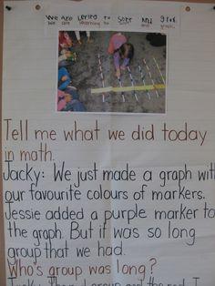 shared writing activities preschool