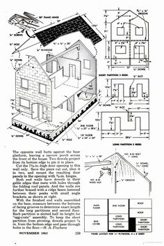 free doll house plans | Doll houses | Pinterest | Doll house plans ...