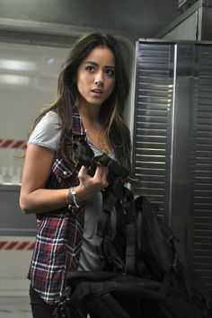 Chloe Bennet, Marvel's Agents of SHIELD. What a fantastic character. Hipster Grunge, Series Da Marvel, Chloe Bennett, Melinda May, Fitz And Simmons, Marvels Agents Of Shield, Celebrity Crush, Actors & Actresses, Beautiful People