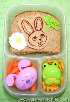 Easter Bunny Kids Lunch