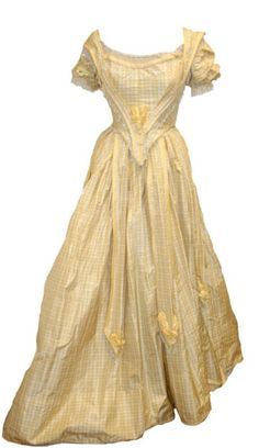 Yellow Southern Belle Dress: Here