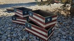 Check out this item in my Etsy shop https://www.etsy.com/listing/522944910/rustic-american-flag-box-wooden-box-flag