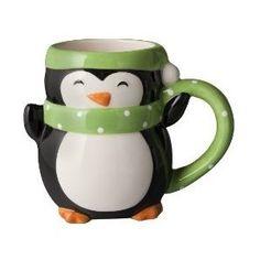 Figural Penguin Mug Set of 4 : Target