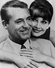 Cary &  Audrey - a couple of class acts (not to mention beautiful people).