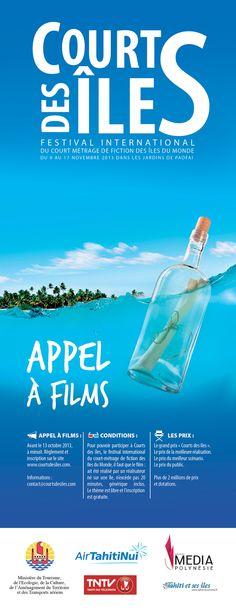 Appel à films pour le festival Courts des îles