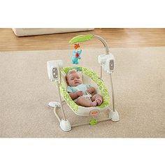 Fisher-Price Rainforest Friends Space Saver Swing and Seat $73 Walmart