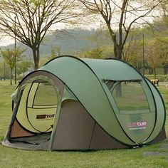 2017 the latest super large people tent to avoid building automatic tent speed open tent outdoor camping beach tent 4 Person Camping Tent, Pop Up Camping Tent, Hiking Tent, Camping Needs, Best Tents For Camping, Pop Up Tent, Outdoor Camping, Camping Bbq, Camping Stuff