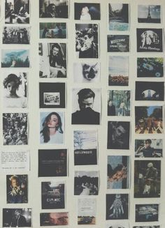 polaroids // going to start doing this when i get my instax camera