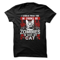 My Cat Halloween T Shirts, Hoodies. Check price ==► https://www.sunfrog.com/Zombies/Save-My-Cat.html?41382 $19.99
